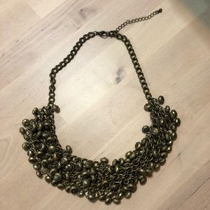Gold Chunky Necklace